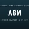 AGM Sunday November 12