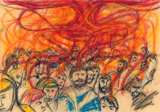 Acts 2:1-4. When the day of Pentecost came.  Mark A Hewitt