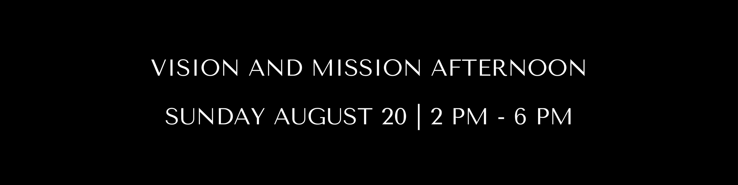 VISION AND MISSION AFTERNOON (2)
