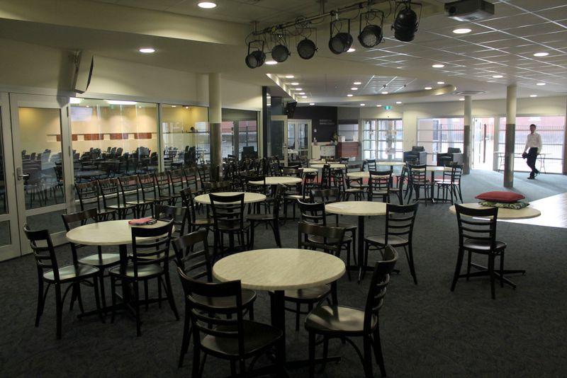 Dining Area Adjoining Foyer